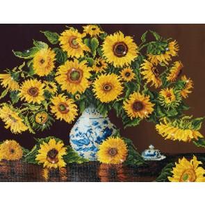 Diamond Dotz Sunflowers In A China Vase Kit