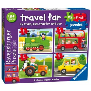 Rburg - Travel Far My First Puzzle 2 3 4 5pc