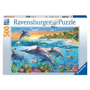 Rburg - Dolphin Cove Puzzle 500pc