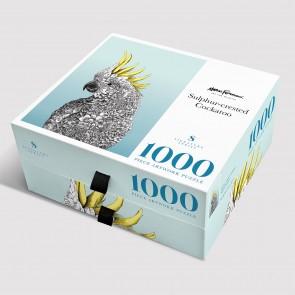 Nathan Ferlazzo Sulphur-crested Cockatoo Jigsaw Puzzle
