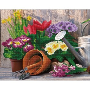 Diamond Dotz Diamond Art - Gardening Kit
