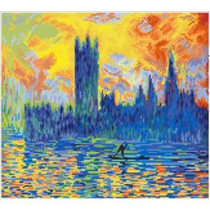 Diamond Dotz London Parliament In Winter (Apres Monet) Kit