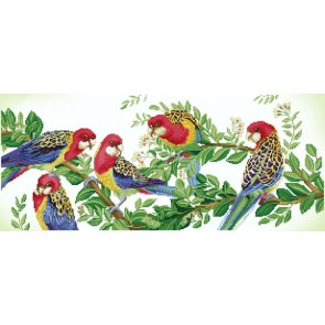 Diamond Dotz Eastern Rosella Gathering Kit