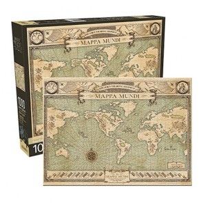 Fantastic Beasts Map Jigsaw Puzzle