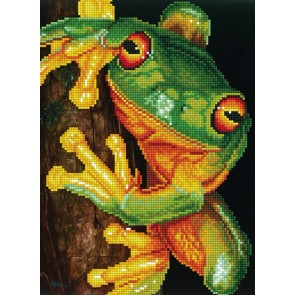 Diamond Dotz Green Tree Frog Kit