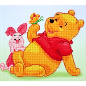 Diamond Dotz Pooh With Piglet Kit