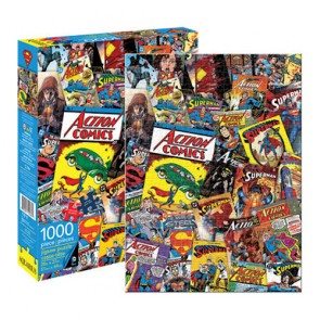 DC Comics Superman Retro Collage Jigsaw Puzzle