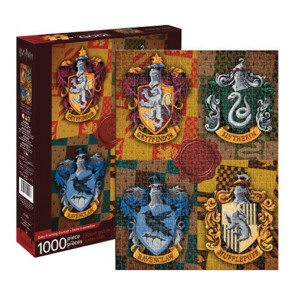 Harry Potter - Crests Jigsaw Puzzle