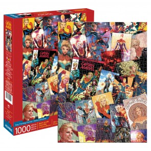 Marvel - Captain Marvel Collage Jigsaw Puzzle