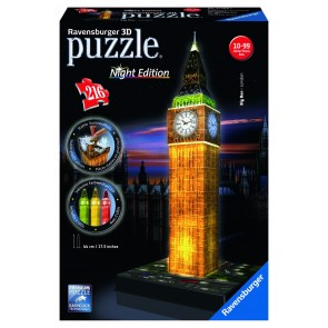 Rburg - Big Ben at Night 3D Puzzle Building