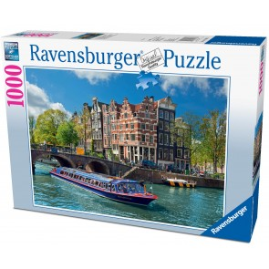 Rburg - Canal Tour in Amsterdam Puzzle 1000pc