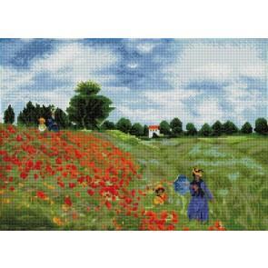 Diamond Dotz Poppy Fields (Apres Monet) Kit