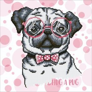 Diamond Dotz Hug A Pug Kit