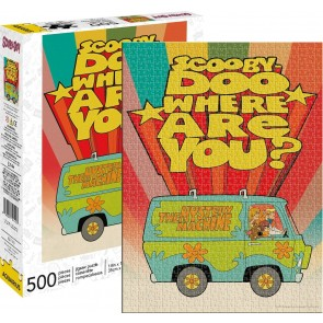 Aquarius Scooby Doo - Where Are You? Jigsaw Puzzle