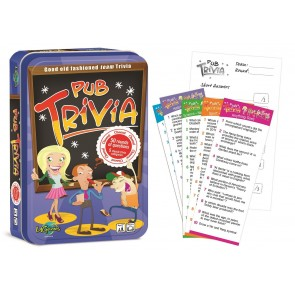 Pub Trivia Tinned Game