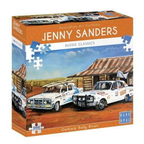 Blue Opal Outback Rally Rivals Jigsaw Puzzle
