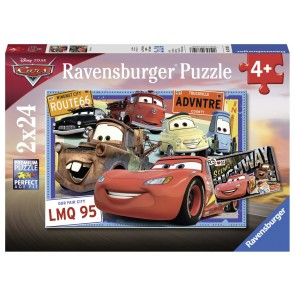 Disney Two Cars Puzzle