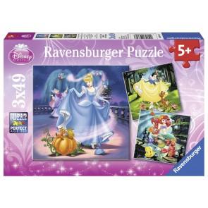 Disney Cinderella & Ariel Puz
