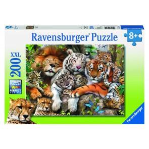 Rburg - Big Cat Nap Puzzle 200pc