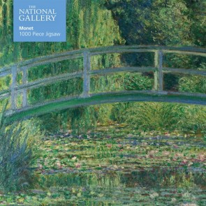 National Gallery Monet: Monet: The Water-Lily Pond Jigsaw Puzzle