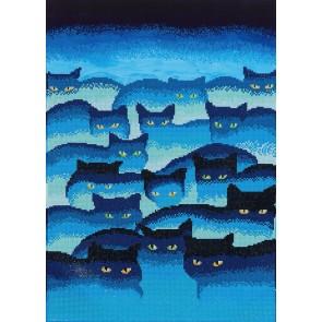 Diamond Dotz Smokey Mountain Cats Kit