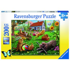 Rburg - Playing In The Yard Puzzle 200pc