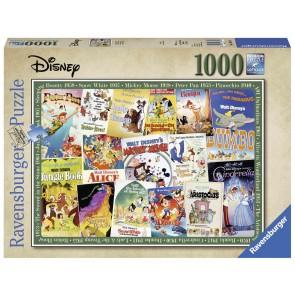Disney Vint Movie Posters Puzzle