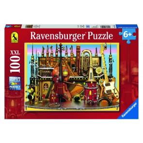 Rburg - Music Castle 100pc Puzzle