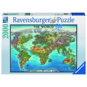 Rburg - World Map Puzzle 2000pc