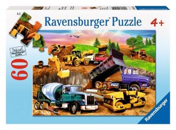 Rburg - Construction Crowd Puzzle 60pc