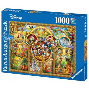 Rburg - Disney Best Themes Puzzle 1000pc