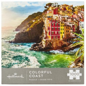 Colorful Coast 1000-Piece Puzzle