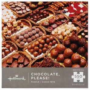 Chocolate Please! 550-Piece Puzzle