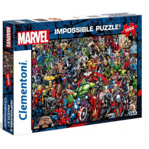Clementoni Disney Puzzle Marvel Impossible Jigsaw Puzzle