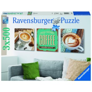 Rburg - Coffee Time Puzzle 3x500pc