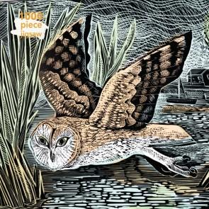 Angela Harding: Marsh Owl Jigsaw Puzzle