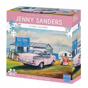 Blue Opal Jenny Sanders Salt Water Bait Jigsaw Puzzle