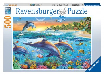 Rburg - Dolphin Cove Puzzle 500pc