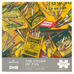 The Color of Fun Crayola 1000-Piece Puzzle