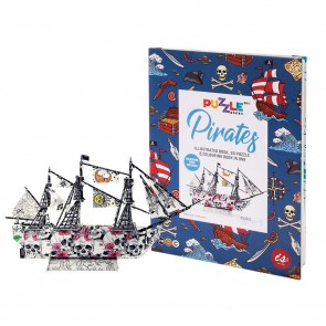 Puzzle Books - Pirates
