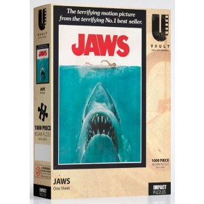 Uvault - Jaws - One Sheet Jigsaw Puzzle