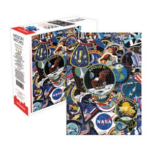 NASA Mission Patches Jigsaw Puzzle