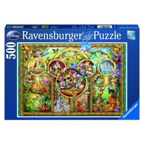 Rburg - Disney Family Puzzle 500pc