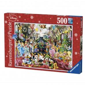 Rburg - Disney Christmas Train Puzzle 500pc