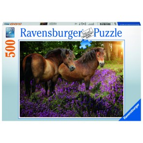 Ponies in the Flowers Puzzle