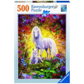 Unicorn and Foal Puzzle