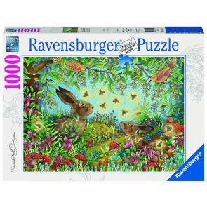 Nocturnal Forest Magic Puzzle
