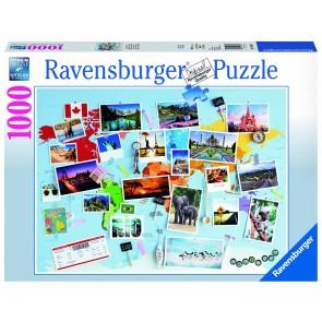 Rburg - World Travel Memories Puzzle 1000pc