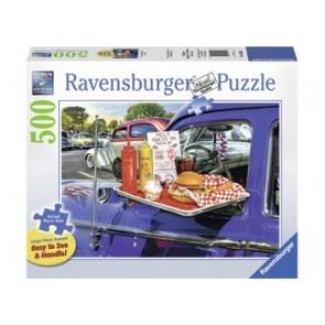 Ravensburger Drive-Thru Route 66 Large Format Jigsaw Puzzle