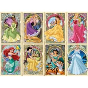 Ravensburger Disney Art Nouveau Princesses Jigsaw Puzzle